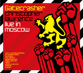 Gatecrasher Live in Moscow CD